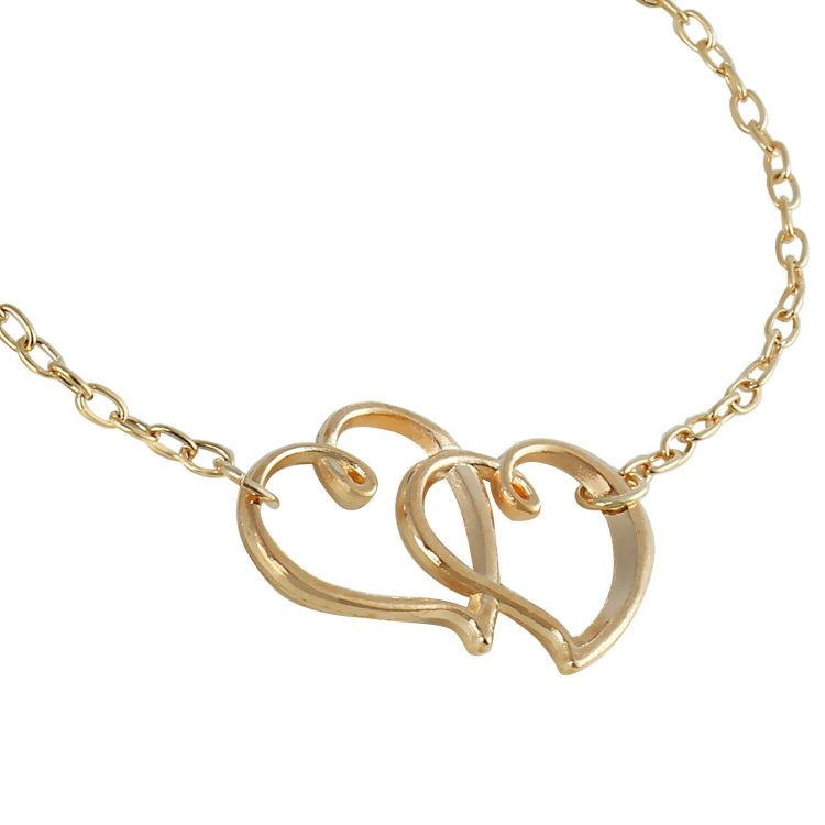 Heart shape anklet