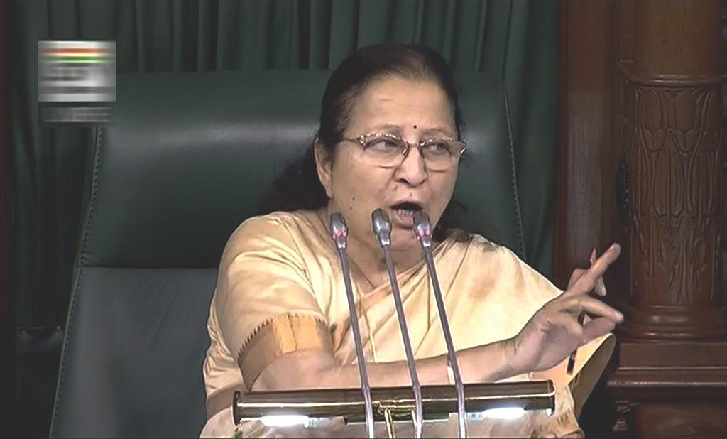 Sumitra Mahajan won't contest elections this time