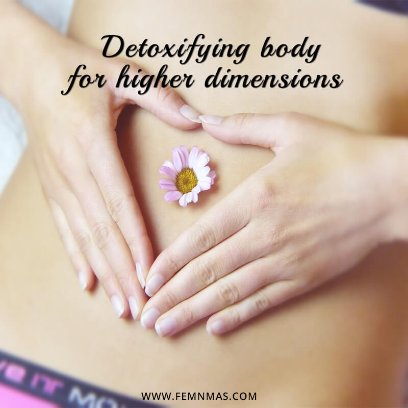 Detoxifying the Body for Higher Dimensions