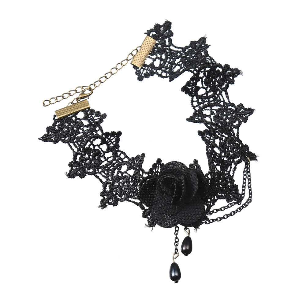 Flower Lace Choker Necklace