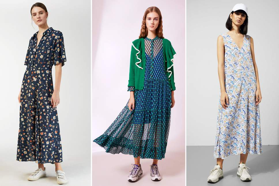 This summer: Wear your floral dress in different styles